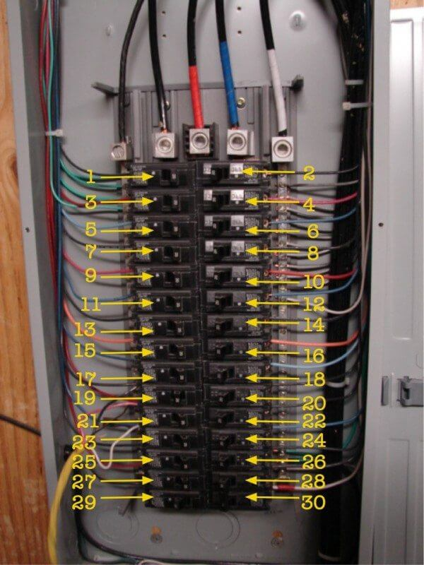 240 single phase wiring diagram for panelboard how to identify    wiring    circuit number colors eahq  how to identify    wiring    circuit number colors eahq