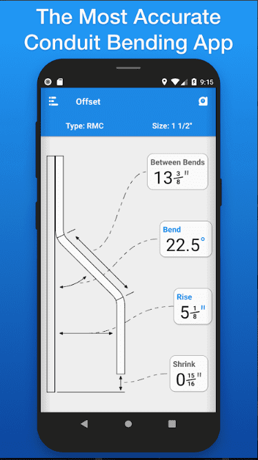 best conduit bending apps