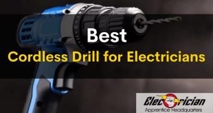 best cordless drill for electricians