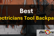 best electricians tool backpack