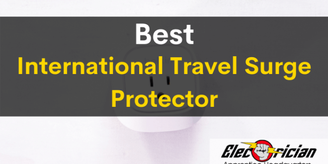 best international travel surge protector